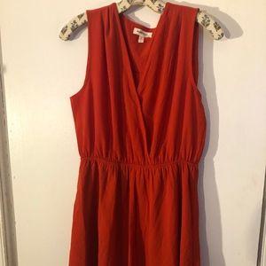 Monteau Orange dress